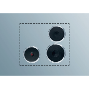 ELECTROLUX PS+B32 Kochplatten Set