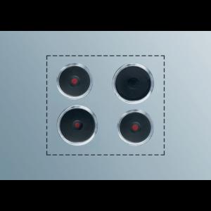 ELECTROLUX PS412 Kochplatten Set