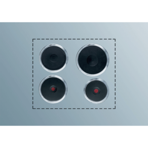 ELECTROLUX PS423 Kochplatten Set