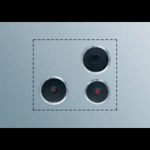 ELECTROLUX PS+B302 Kochplatten Set
